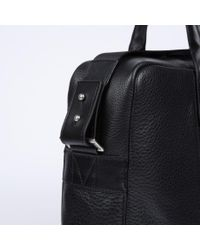 Paul Smith - Men'S Black Pebble Embossed Leather 'City Webbing' Business Folio for Men - Lyst