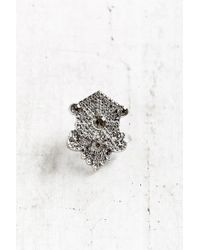 Urban Outfitters - Metallic Royal Crest Pin - Lyst