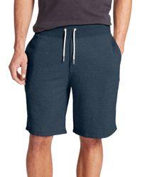 Rag & Bone | Blue Standard Issue Lightweight Loopback Sweatshorts for Men | Lyst