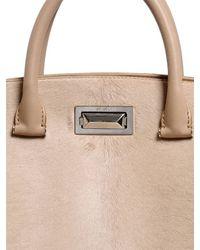 Max Mara | Pink Suede Tote Bag | Lyst