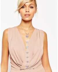 ASOS | Purple Red Carpet Occasion Body Chain | Lyst