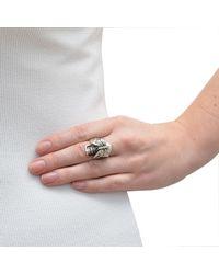 The Wildness Jewellery | Metallic Les Fleurs Du Mal Butterfly Ring | Lyst