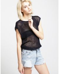 Wool And The Gang   Blue Agyness Top   Lyst