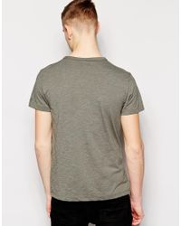 G-Star RAW - Green G Star Raw T-shirt Logo for Men - Lyst