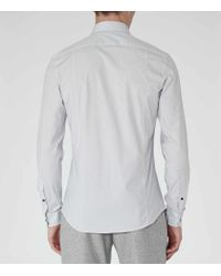 Reiss | White Highgarden Patterned Slim-fit Shirt for Men | Lyst