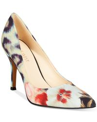 Nine West | Multicolor Flax Pointed Toe Pumps | Lyst