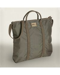 RRL | Green Nylon Tote Bag for Men | Lyst