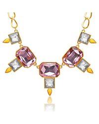 George & Laurel - Pink Winston Necklace - Lyst