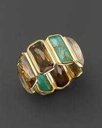 Ippolita - Metallic 18k Yellow Gold Rock Candy Gelato Fancy Rectangle Ring - Lyst