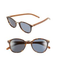 Proof | Brown 'ada Eco' 48mm Polarized Sunglasses | Lyst