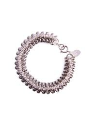 KG by Kurt Geiger - Purple Channi Bracelet - Lyst