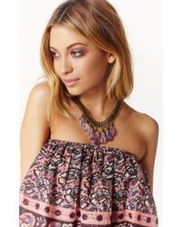 Vanessa Mooney | Purple The Canyon Necklace | Lyst