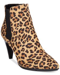 Style & Co. | Multicolor Style&co. Zoyaa Pointed Toe Dress Booties | Lyst