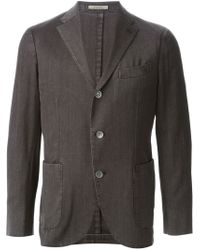Boglioli - Gray Three Button Blazer for Men - Lyst