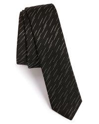 The Kooples - Black 'new Line' Silk Jacquard Tie for Men - Lyst