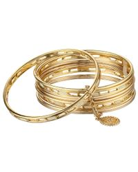 Jessica Simpson   Metallic Birdcage Bracelet   Lyst