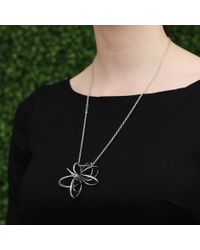 Mattia Cielo | Metallic Small Pavone Ring Necklace | Lyst