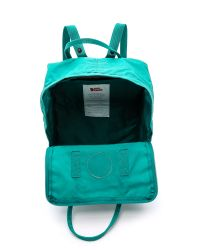 Fjallraven | Blue Kanken Backpack - Ocean Green | Lyst