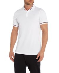 Björn Borg - White Short Sleeve Tyme Pique for Men - Lyst