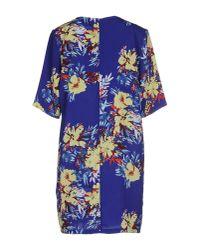 Darling - Multicolor Short Dress - Lyst