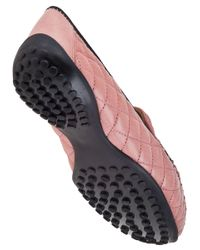 Robert Zur | Quana Loafer Rose Pink Leather | Lyst
