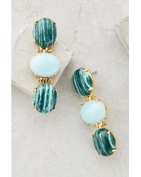 Anthropologie - Blue Tripletta Drops - Lyst