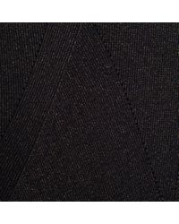 Paul Smith - Women's Metallic Black And Navy Wool-blend Sweater - Lyst