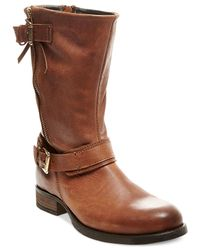 Steve Madden | Brown Kavilier Mid-shaft Booties | Lyst
