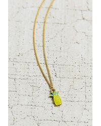 Urban Outfitters | Yellow Isla Charm Necklace | Lyst