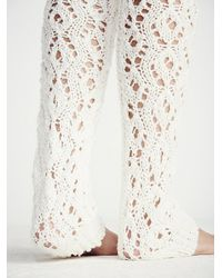 Free People | Natural Lemons Womens Sweater Web Over The Knee Legwarmer | Lyst