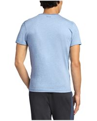 BOSS Green - Blue T-shirt: 'tee 4' With A Round Neckline for Men - Lyst