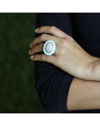Wendy Yue | Blue Opal And Turquoise Ring | Lyst