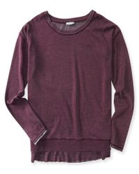 Aéropostale | Faux Layered Boxy Crew Sweatshirt | Lyst