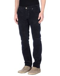Armani Jeans | Blue Casual Pants for Men | Lyst