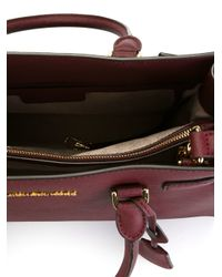 MICHAEL Michael Kors - Red Dillon Leather Tote - Lyst