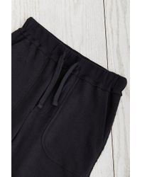 BDG | Black Knit Unisex Cutoff Short | Lyst