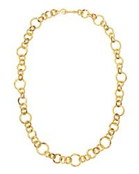Stephanie Kantis | Metallic Coronation 24k Gold Plate Large Necklace | Lyst
