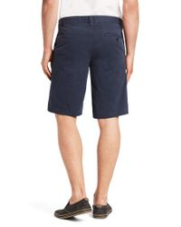 BOSS Orange | Blue Slim Fit Cotton Shorts 'sairy1-shorts-d' for Men | Lyst
