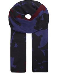 Issa | Multicolor Printed Modal Scarf | Lyst