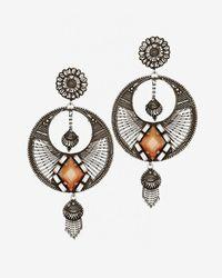 DANNIJO - Metallic Iva Chandelier Earrings - Lyst