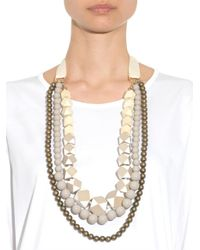 Weekend by Maxmara | Natural Retina Necklace | Lyst