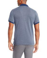 BOSS - Blue 'paullo' | Slim Fit, Mercerized Cotton Polo Shirt for Men - Lyst