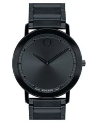 Movado | Black 'sapphire' Bracelet Watch for Men | Lyst
