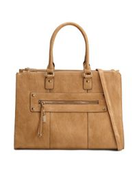 ALDO | Brown Galouba Tote With Laptop Sleeve | Lyst