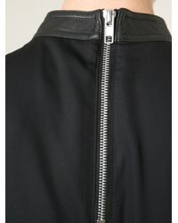 Rick Owens - Black Belted Dress - Lyst