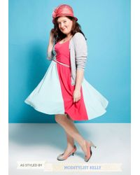 ModCloth - Meows The Time Heel in Pink - Lyst