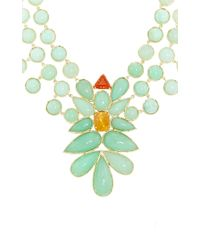 Irene Neuwirth - Green One Of A Kind 18k Gold And Mint Chrysoprase Necklace - Lyst
