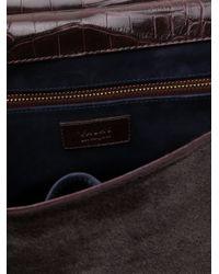 Valas - Purple Alligator Bag - Lyst