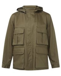 Lemaire | Green Olive Military Parka for Men | Lyst
