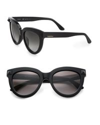 Valentino | Black Rock Stud 52mm Cat's-eye Sunglasses | Lyst